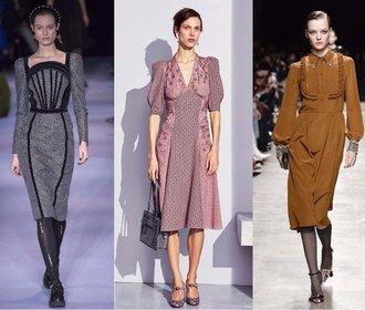 Šaty a kabelky ve stylu 40. let ovládnou letošní podzim. Podlehnete?