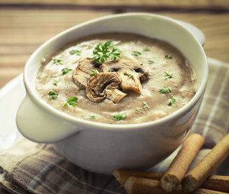 Rychlá večeře: Vsaďte na krémovou houbovou polévku!