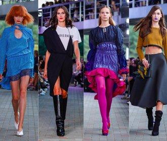 Sobota na MBPFW: Přehlídky plné barev, vzorů a splývavých šatů