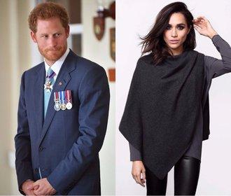 """""""Jsme zamilovaní."""" Meghan Markle potvrdila vztah s princem Harrym"""