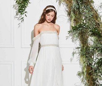Inspirace pro nevěsty 2018: Stylistka slavných navrhla kolekci svatebních šatů
