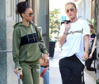 Celebrity nosí tepláky: Jak se vám v nich líbí?
