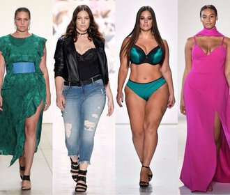 Plus-size modelky zářily na NYFW. Bylo jich nejvíc v celé historii!