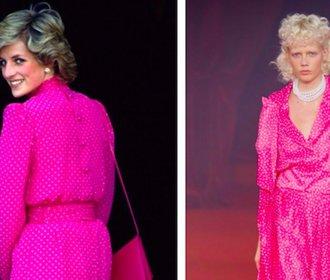 Návrhář uctil na pařížském fashion weeku princeznu Dianu