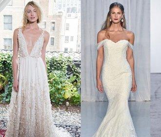 New York Bridal Week: 5 zásadních trendů ze svatebního týdnu módy!