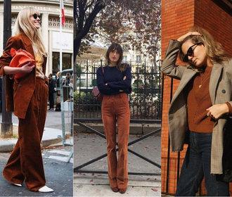 Rezavě hnědá: Barva, která ovládla outfity na Instagramu