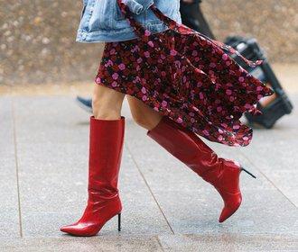 Červené boty: Nejvyšší čas si přece jen (alespoň) jedny pořídit!