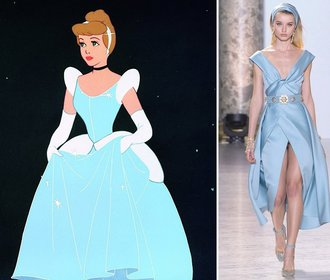Disney princezny v šatech z kolekcí Haute Couture: Které by slušely Popelce a Sněhurce?