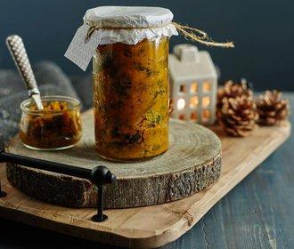 Jedlé dárky pro gurmány: Domácí dýňové čatní nebo třeba hruškový likér!