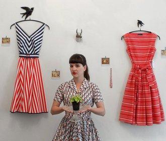 Hana Noble, majitelka značky Lazy Eye: Šaty jsou má láska!