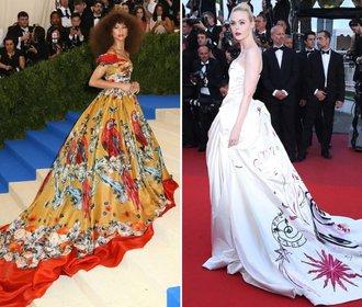 Top 10 večerních šatů roku 2017: Která žena oblékla ty nejkrásnější?