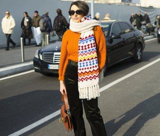 Móda z ulic Milána: Jak si udržet styl v pěti stupních nad nulou?