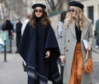 Móda v Paříži: Jak vypadat cool, i když je hodně chladno!