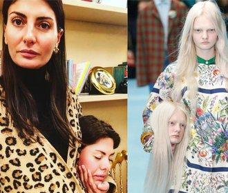 Hlava Gucci vyvolala na Instagramu vlnu parodií. Legraci si dělají i módní ikony