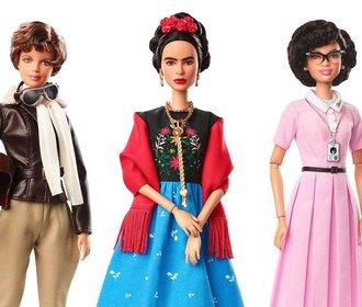 Mattel představil nové bárbíny, je mezi nimi i Frida nebo olympijská vítězka ve snowboardu