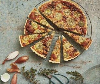 V hlavní roli quiche: Slaný francouzský koláč si zamilujete!