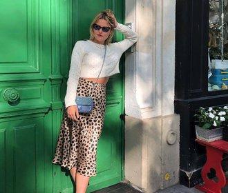 Nejžhavější trend tohoto léta podle Francouzek? Leopardí vzor!