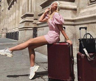 Cestujte stylově: Pořiďte si kufr, který nikdo nepřehlédne!
