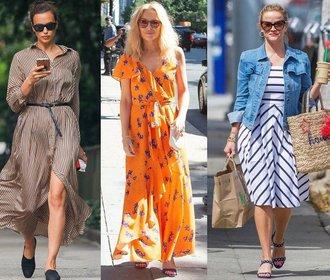 Letní inspirace: Šaty podle slavných žen. Kupte si podobné!