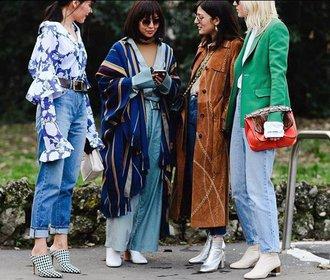 S čím nosit stylové kotníkové boty na podzim?