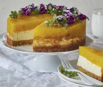 Mlsání povoleno: Upečte si mangový cheesecake!