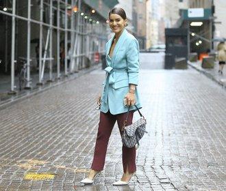Móda v ulicích New Yorku: Inspirujte se, v čem vyrazit do práce!