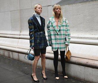 Kde právě teď koupíte perfektní oversize kostkované sako?