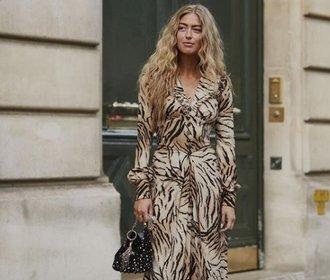 Tygří vzor porazil leoparda! Inspirujte se a noste ho podle módních ikon
