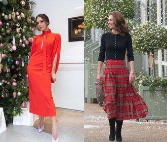 Vánoční outfity podle módních ikon: Jak se obléct ke stromečku nebo na večírek?