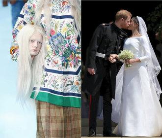 Hlava Gucci i šaty Meghan: 10 událostí ze světa módy, které definovaly rok 2018