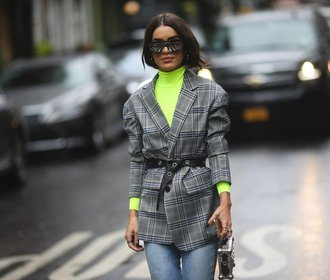 Módní recept na šedivou zimu: Pusťte do šatníku neonové barvy