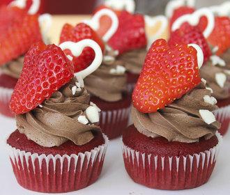 Úžasné a jednoduché cupcakes, které udělají radost nejen na Valentýna!