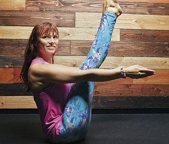 Kateřina Hilerová: Než jsem poznala jógu, byl pro mě sport spíš trest za jídlo