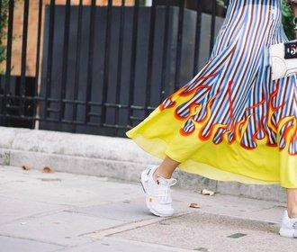 Jak nosit bílé tenisky: Tři originální způsoby, které si zamilujete!