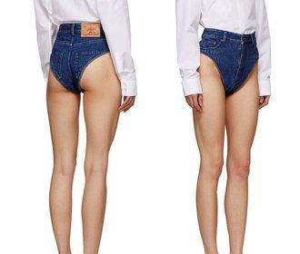 Kam je nosit? Nejodvážnější džíny, ze kterých prakticky nic nezbylo