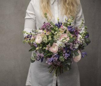 Více než růže ženy milují luční květiny, říká floristka Diana Shatatová