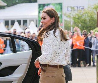 Letní outfit podle vévodkyně Kate, který budete chtít nosit také!