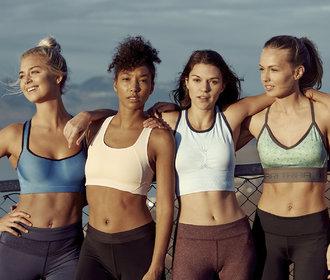 Stylové a funkční sportovní podprsenky na jógu i běhání!