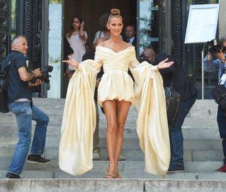 Zapomeňte na Rihannu! Nejodvážnější outfity obléká zpěvačka Céline Dion!