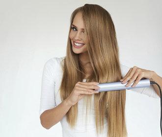 Jak si vyžehlit vlasy, abyste je neničila? Poradíme vám krok za krokem!