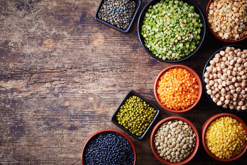 Luštěniny jsou důležitou součástí jídelníčku kvůli vysokému obsahu bílkovin