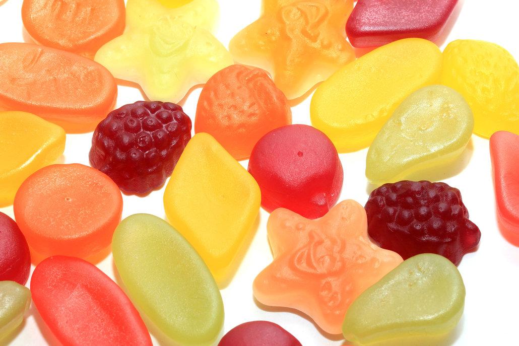 Gumové vitamíny jsou sladké