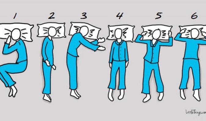 Test osobnosti: Co o vás říká poloha, ve které spíte?