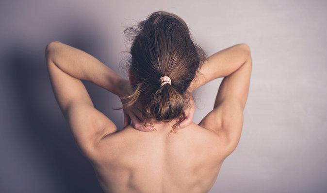 Záda od prsou bolí nejčastěji v horní polovině.
