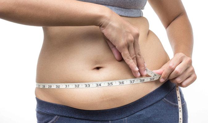 Povolené břicho a obezita