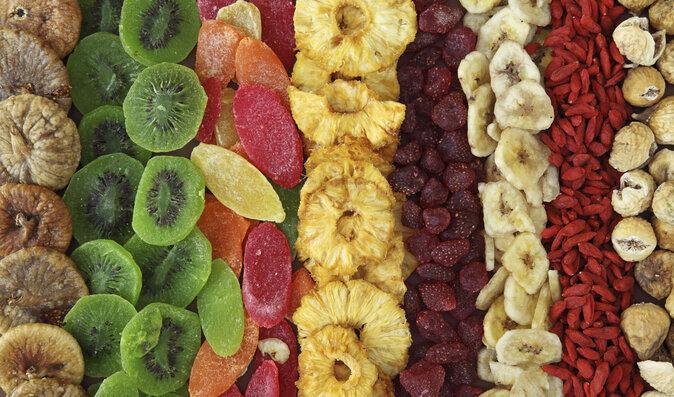 Sušené ovoce bývá přislazované cukry