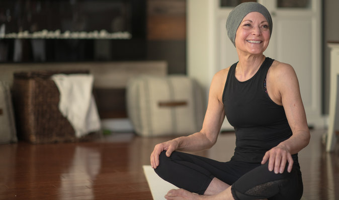 Onkojóga. Cvičení, které může ulevit pacientům s rakovinou