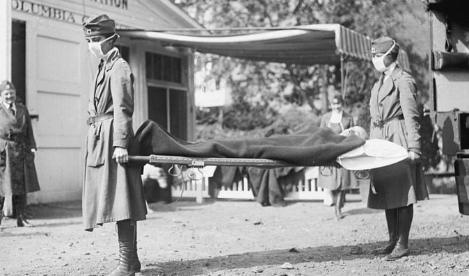 Španělská chřipka zabila po konci 1. světové války miliony lidí