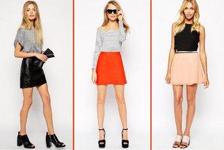 Tohle je vzrušující: Kratší sukně už snad ani nelze nosit! Nebo ano?