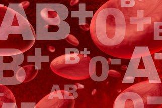 Krevní skupina určuje, jací jste a kdo se k vám hodí